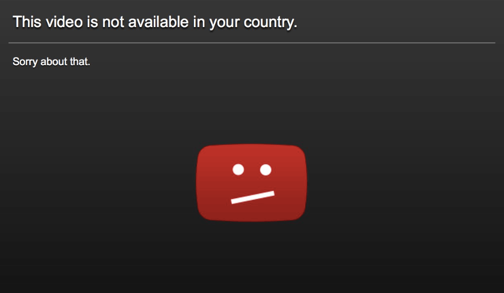 This Video Is Not Available In Your Country Fix 5