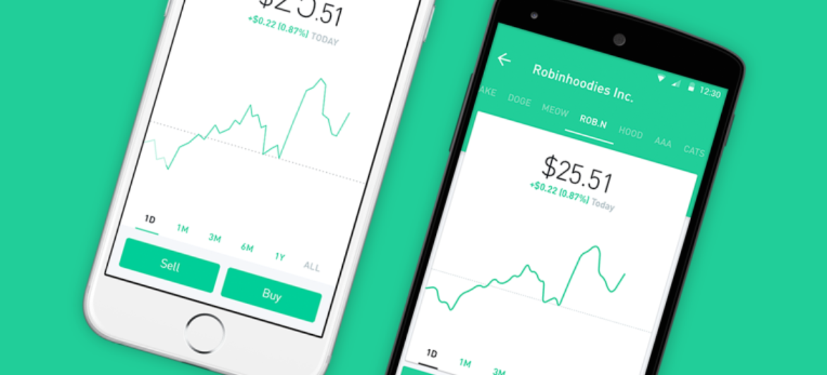 Robinhood stock-trading app confirms $110M raise at $1.3B valuation