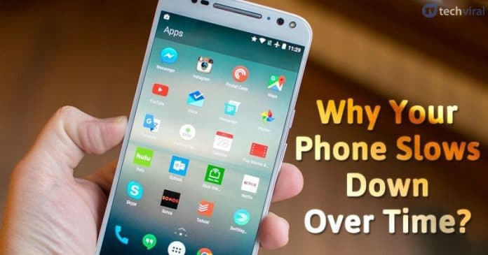 10 Reasons Your Phone Slows Down Over Time