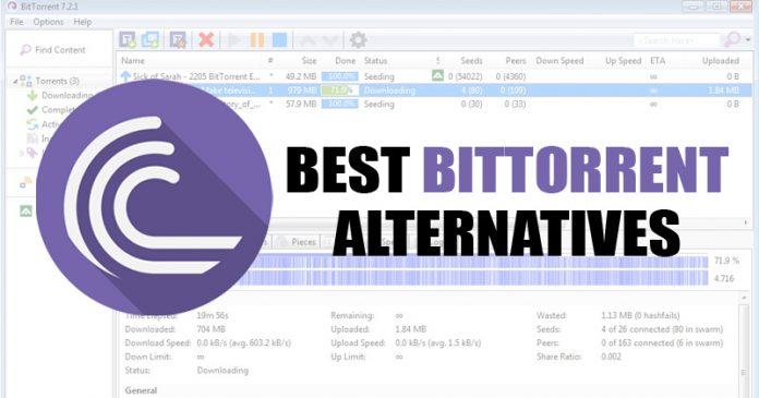 Best BitTorrent alternatives