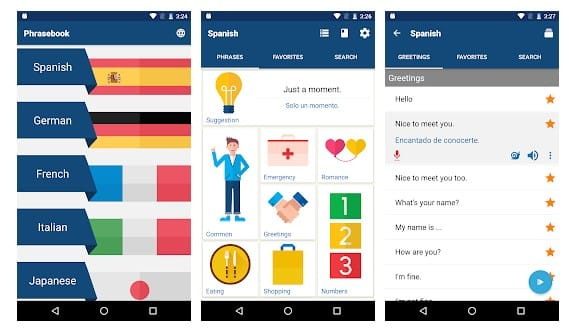 Phrasebook - Learn Languages
