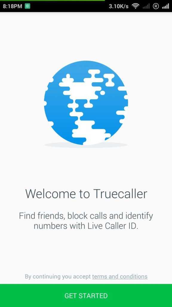 Install TrueCaller