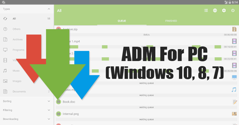 ADM For PC