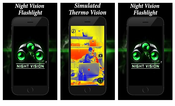 Thermal Night Vision Color Filter