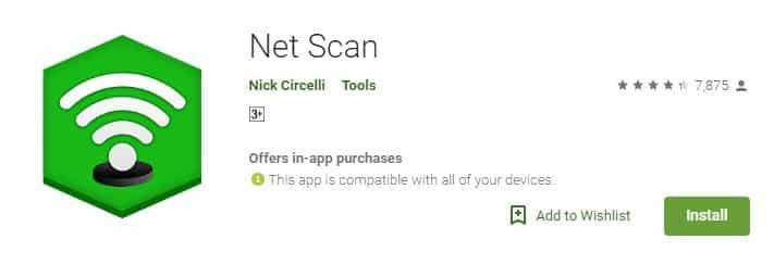 Install Net Scan