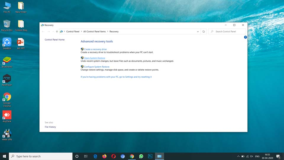 Fix Desktop Icons Missing or Disappeared (2)