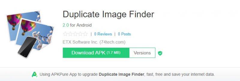 Duplicate Image Finder