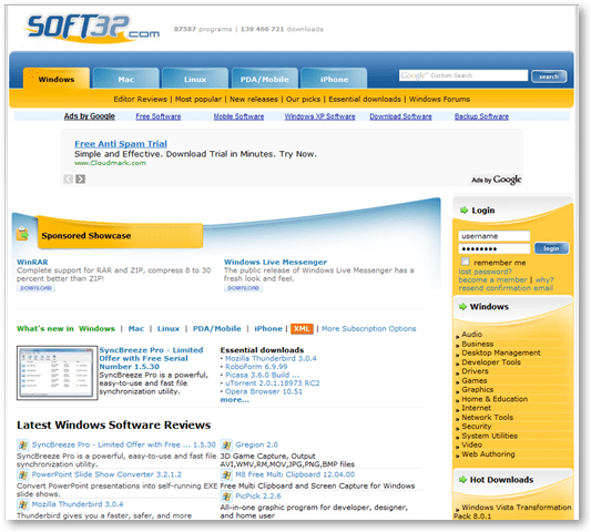 pc software download free latest