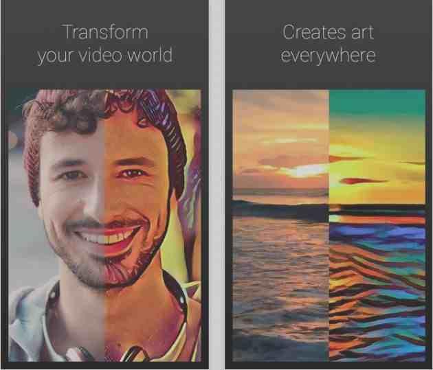 Artisto app to convert your photos to cartoon