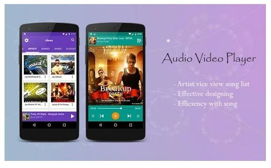 Audio Video Music Player