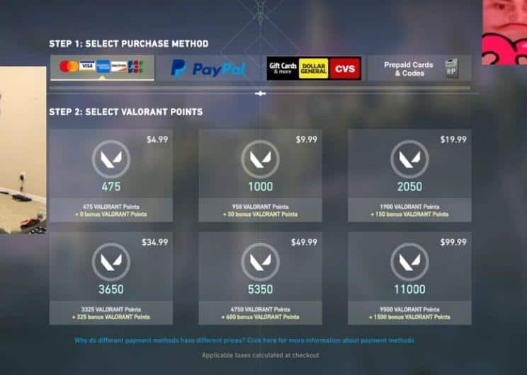 How to Get Valorant Points (VP)?