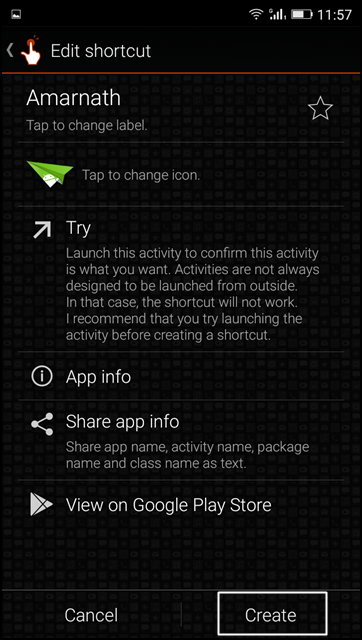 Change the Icons Names On Android Homescreen