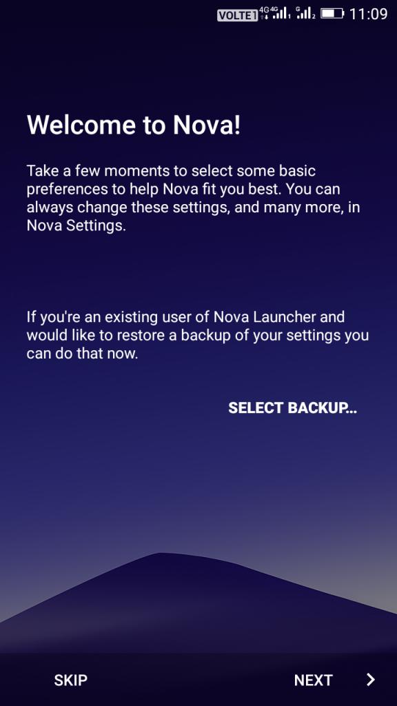 Using Nova Launcher