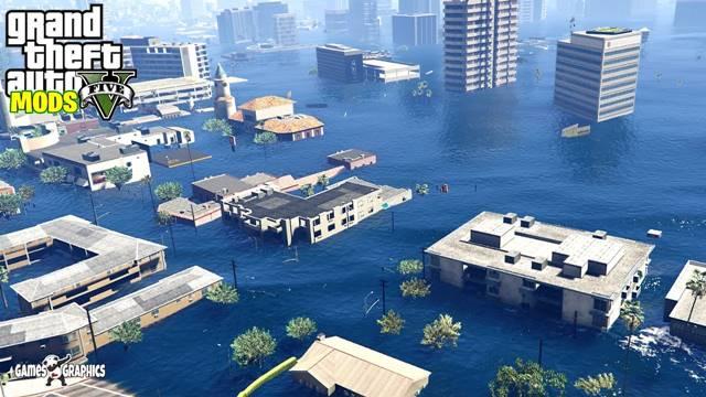 No Water + Tsunami + Atlantis Mod