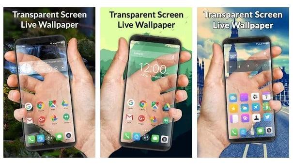 Transparent Screen Live Wallpaper
