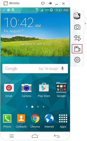 MirrorGo Android Recorder