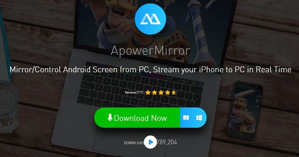 Using ApowerMirror