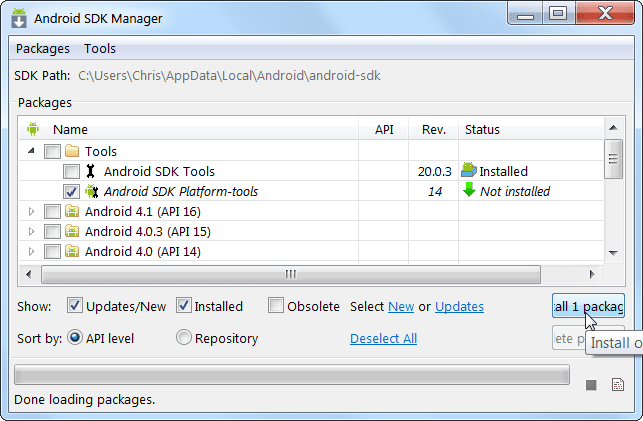 Capture your Android's device screen with ADB