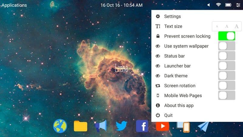 Using Leena Desktop