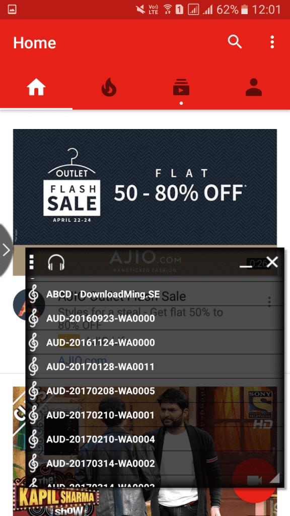 Using Multi Window: Split Screen
