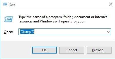 Remove The Temp Files