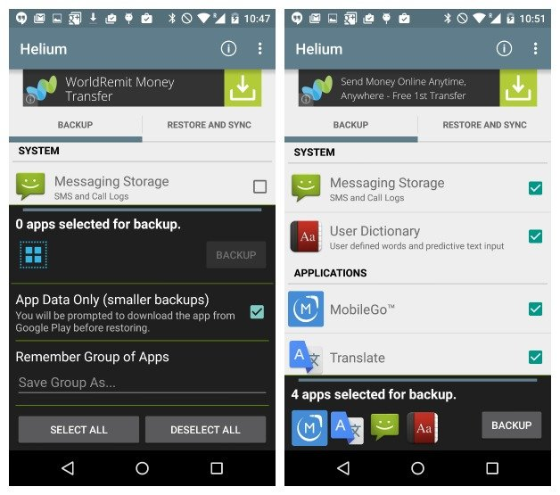 Backup Android Game Data To PCSD Card Without Rooting