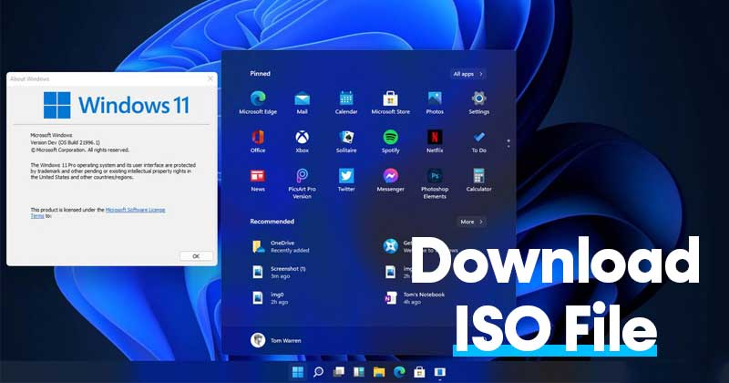 Download Windows 11 Leaked ISO File